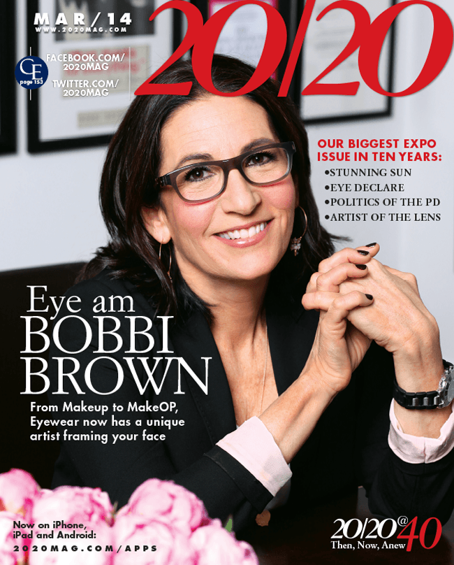 43ad9f96189 We are excited to have been the first optical to offer Bobbi Brown eyewear  on Long Island! As a cosmetician by trade